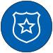 NYU Law Criminal Justice Policing Icon