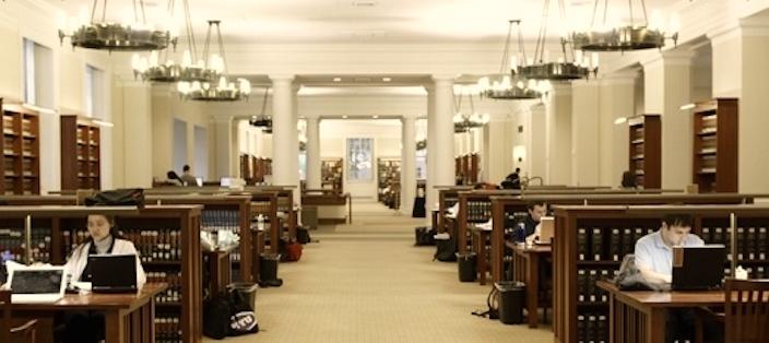Law School Library Interior