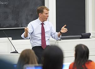 Trevor Morrison teaching