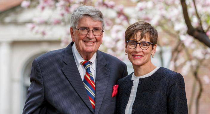 Arthur and Nancy Mahon