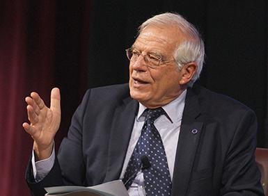 Minister Josep Borrell Fontelles