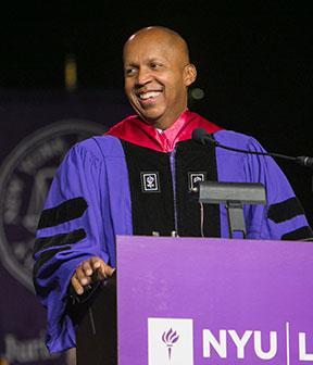 Bryan Stevenson at NYU Law Convocation