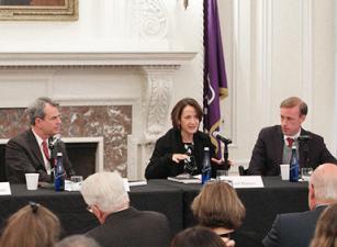 John Bellinger, Avril Haines, and Jake Sullivan
