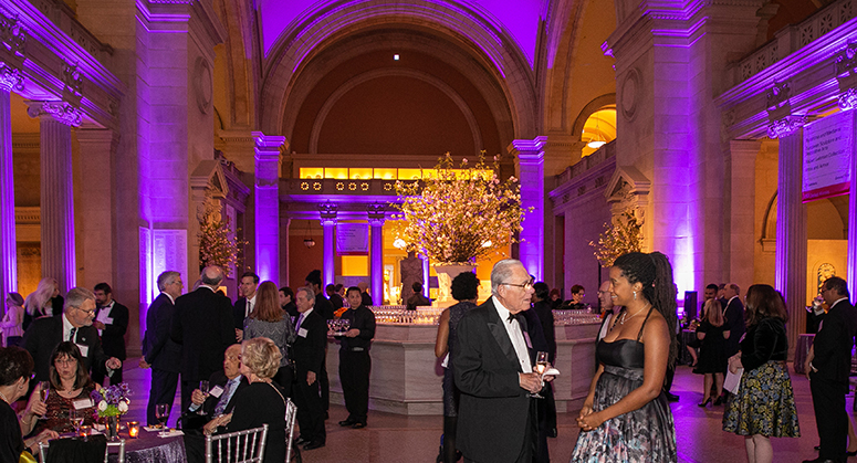 Weinfeld Gala 2019 at Metropolitan Museum of Art, great hall