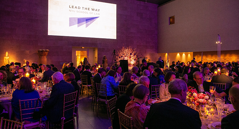 Weinfeld Gala 2019 at Metropolitan Museum of Art dinner tables
