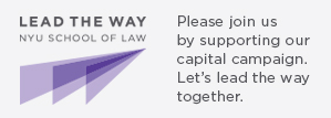 Lead the Way: Support NYU Law's Campaign