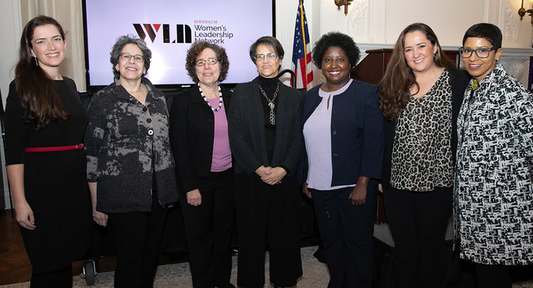 Abby Seidner, Melissa Murray, and Nineteenth Amendment Symposium Panelists 1