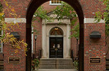 Vanderbilt Hall Courtyard, NYU Law