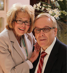 Portrait of Jay and Linda Grunin