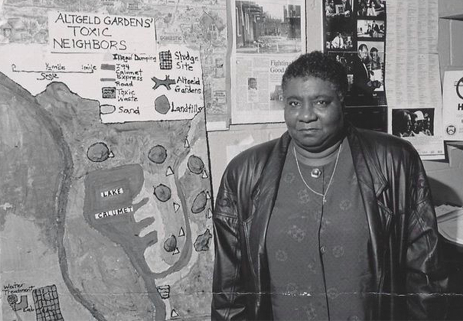 Hazel Johnson, an early environmental justice advocate.