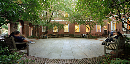 photo of vanderbilt courtyard at nyu law