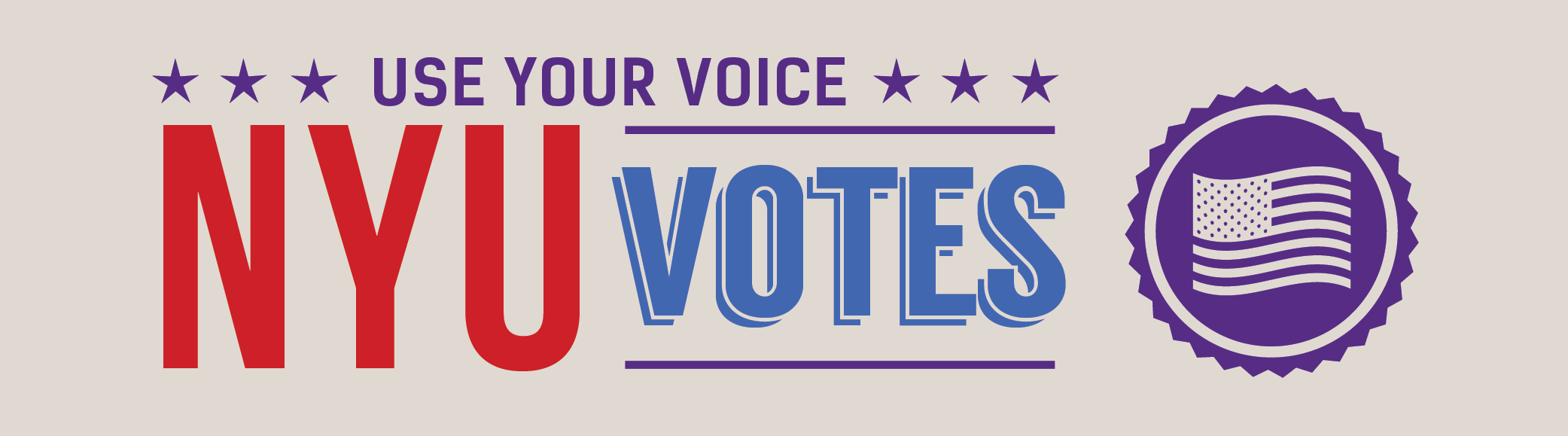 Use Your Voice - NYU Votes