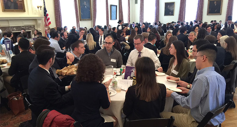 1L Law Firm Speed Networking Luncheon 2018
