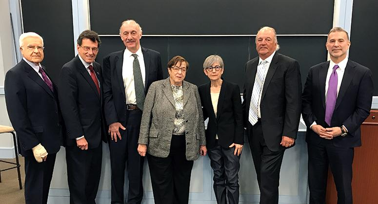 Key players in opioid litigation case convene at NYU Law