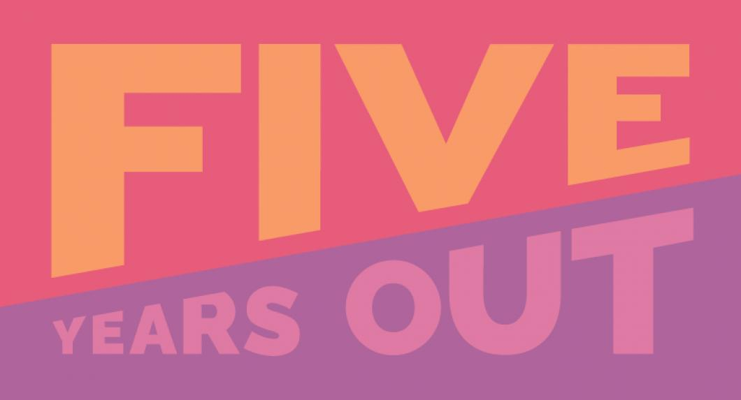 Five Years Out banner
