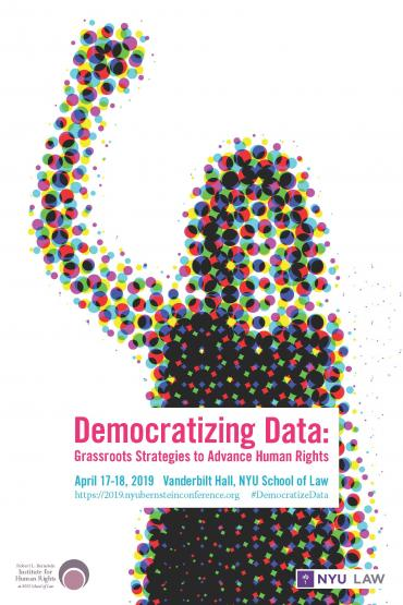 Poster for Democratizing Data Conference