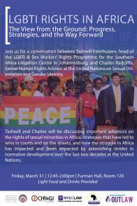 LGBTI Rights in Africa Poster