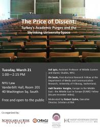 The Price of Dissent Poster