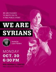 We Are Syrians Poster